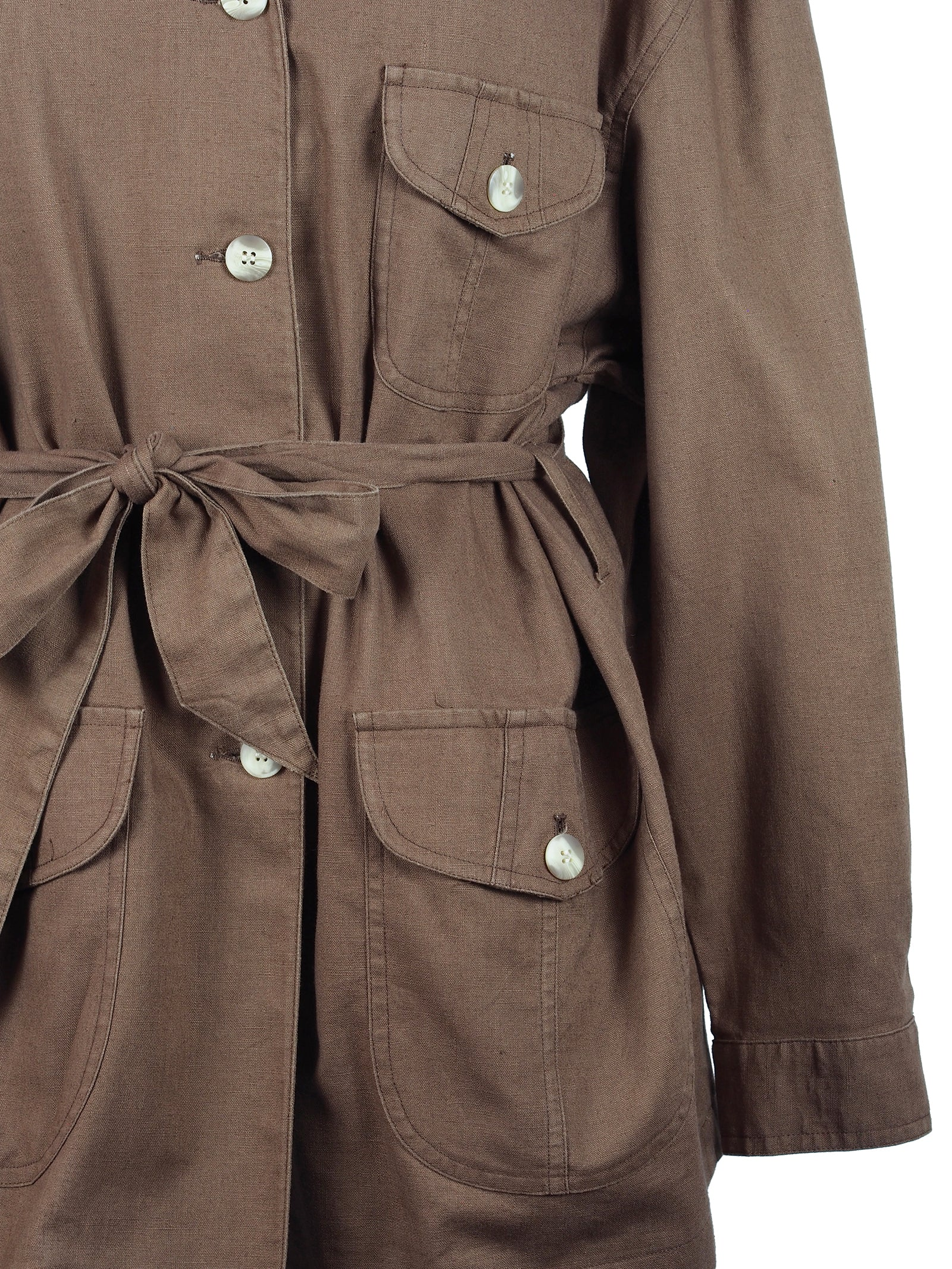 BELTED CARGO SHIRT