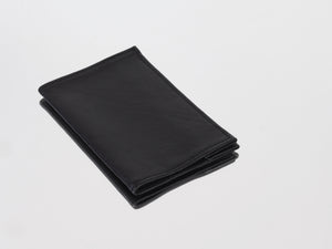 BLACK PASSPORT COVER - CHRISTINA FISCHER