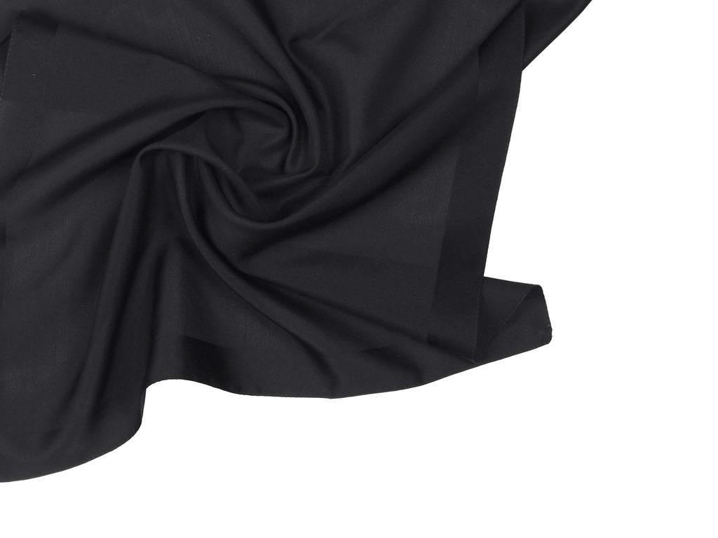 BLACK BANDANA WITH EYELET - CHRISTINA FISCHER