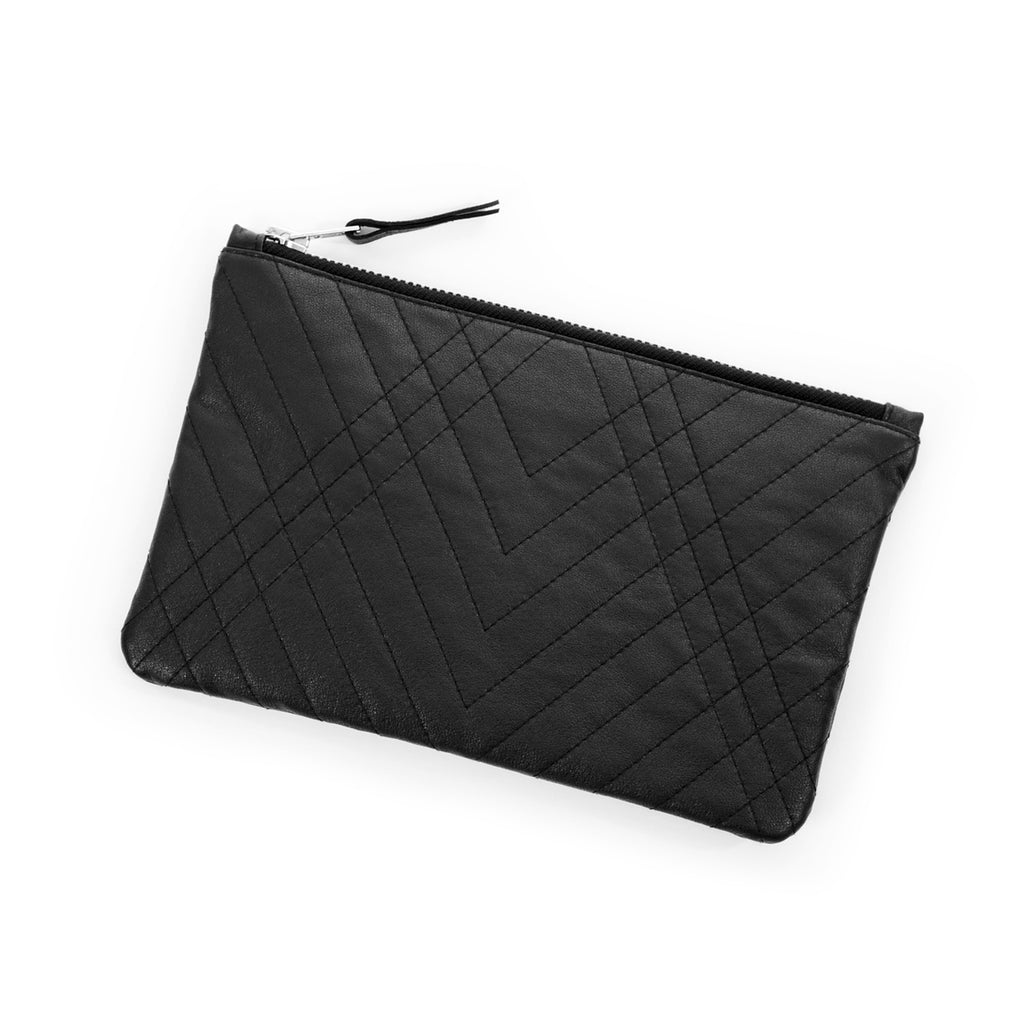 QUILTED CLUTCH - CHRISTINA FISCHER