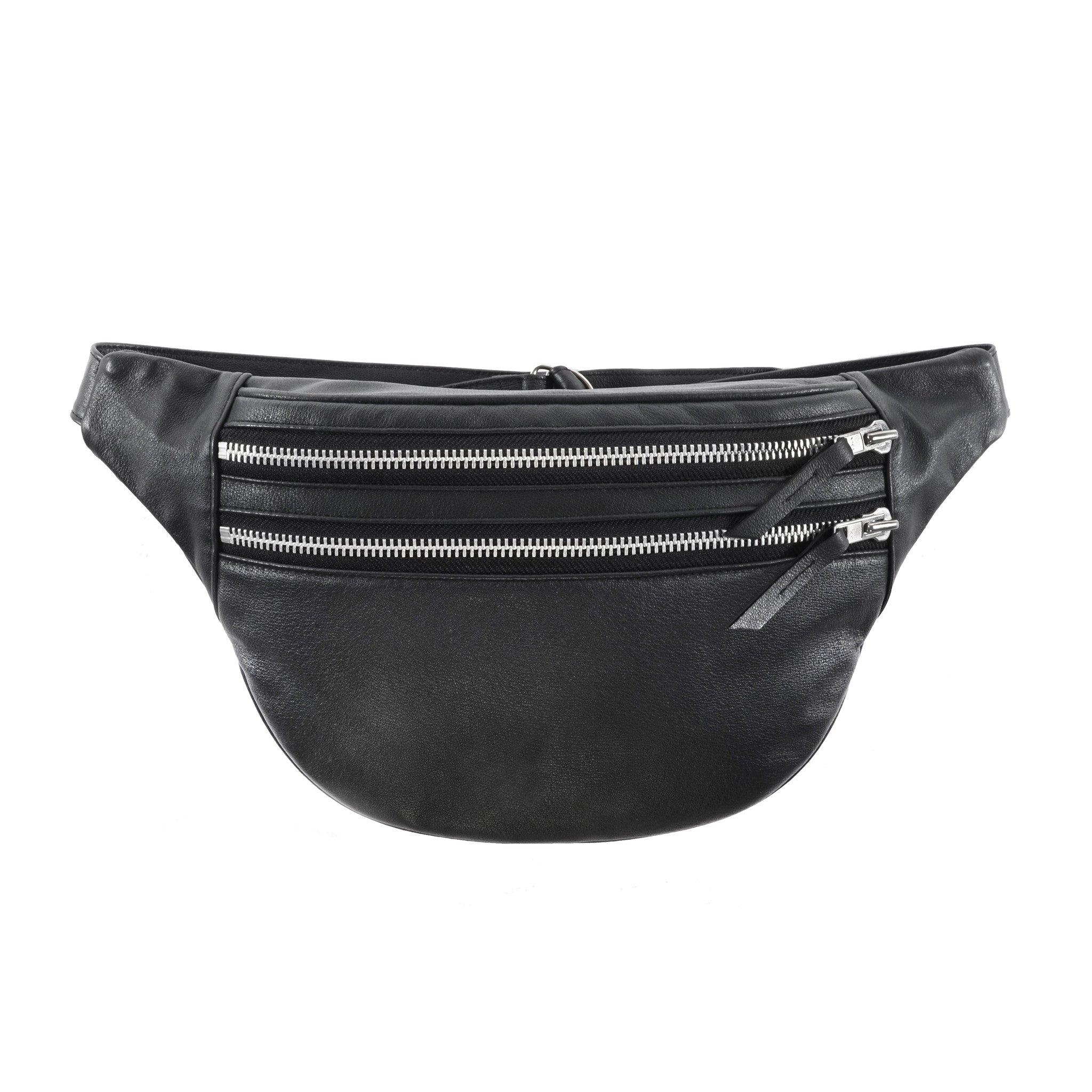 DOUBLE ZIPPER BUM BAG - CHRISTINA FISCHER