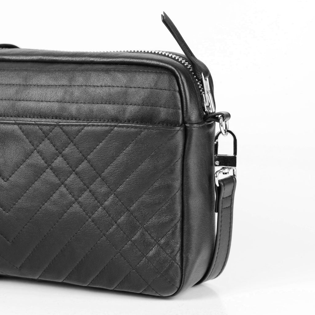 QUILTED BOX BAG - CHRISTINA FISCHER