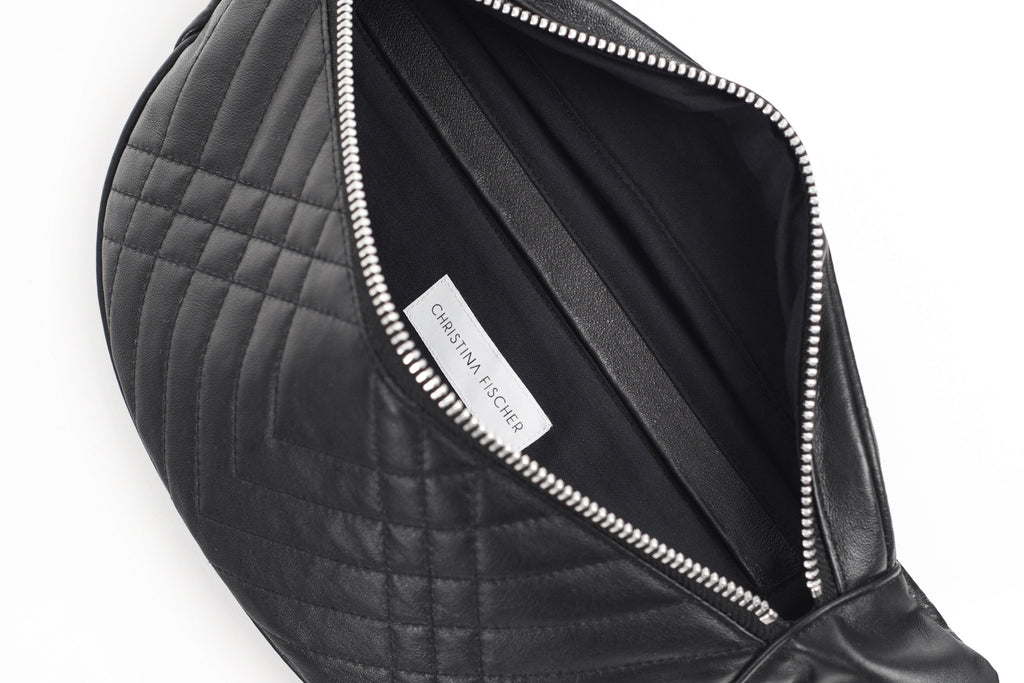 QUILTED BUM BAG - CHRISTINA FISCHER