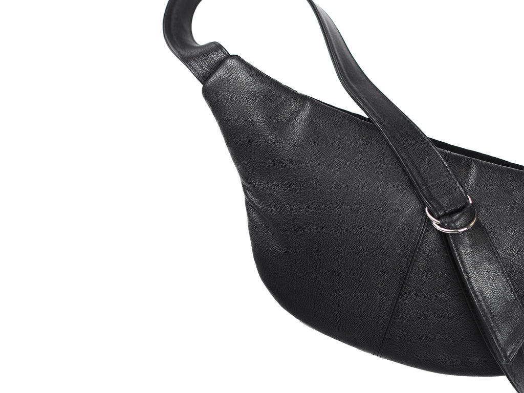 SIMPLE SUEDE AND LEATHER BUM BAG - CHRISTINA FISCHER
