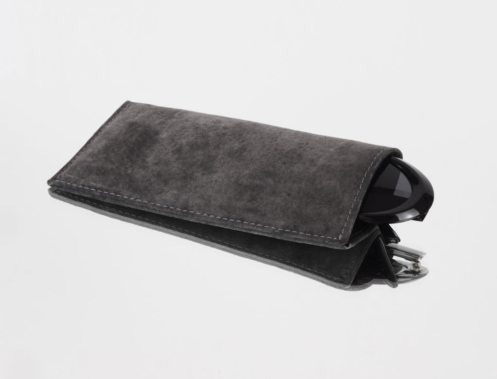 GREY SUNGLASS CASE - CHRISTINA FISCHER
