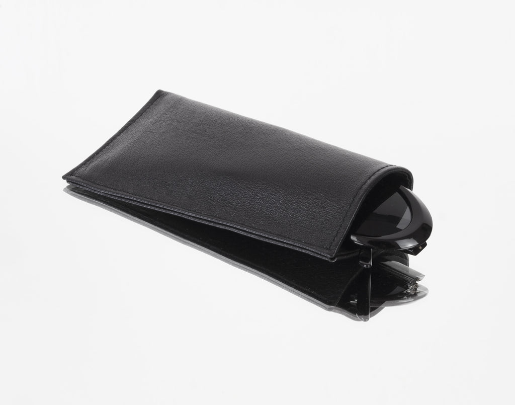 BLACK SUNGLASS CASE - CHRISTINA FISCHER