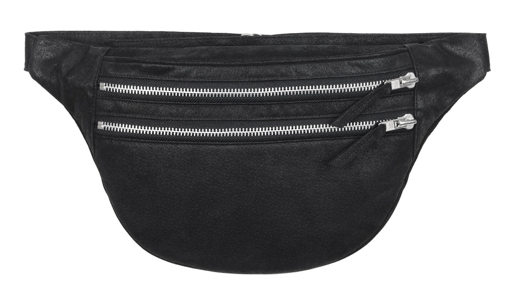 ONE OF A KIND DOUBLE ZIPPER BUM BAG - CHRISTINA FISCHER