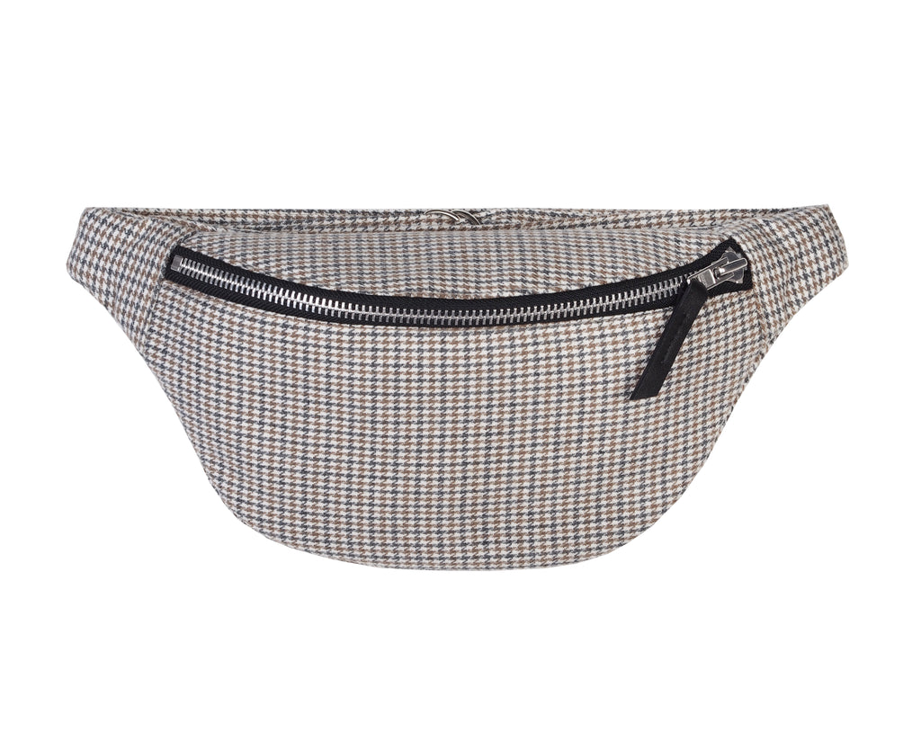 TWEED BUM BAG