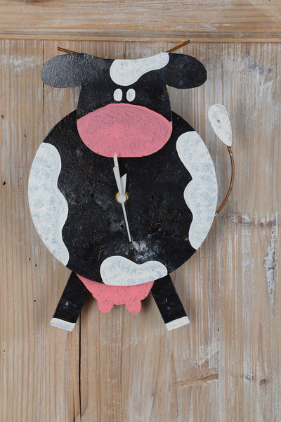 horloge_decoration_vache