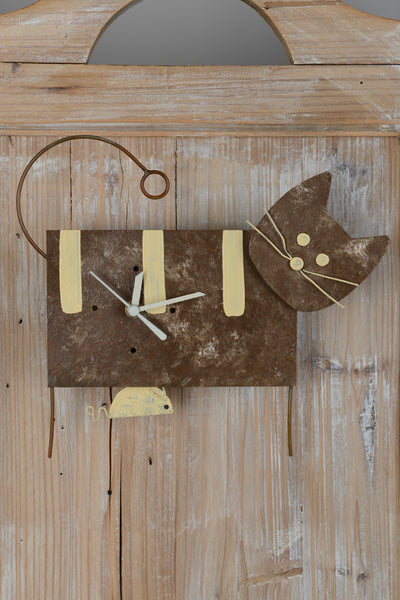 Horloge Décoration Chat