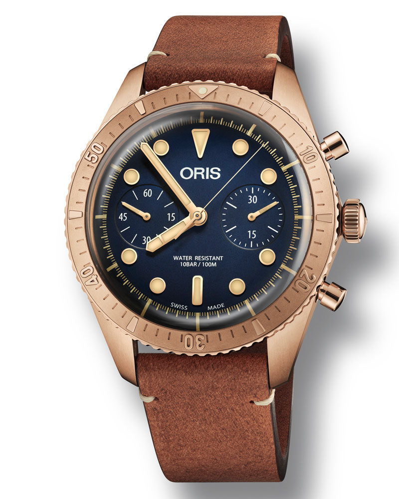 Oris Carl Brashear Chronograph Limited Edition 01 771 7744 3185