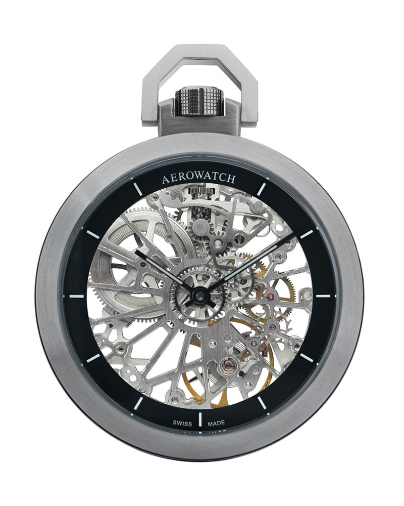 Aerowatch Pocketwatch Skeleton 50818 A01 SQ