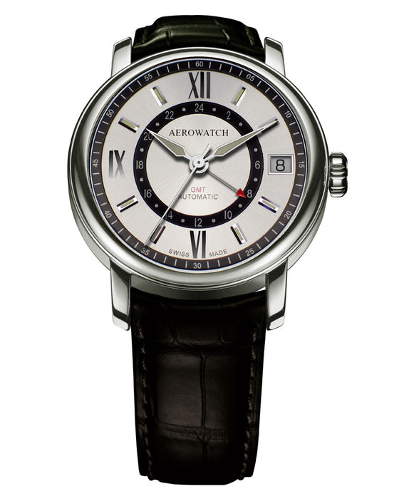 Aerowatch Renaissance Big Automatic GMT 71930 AA 03