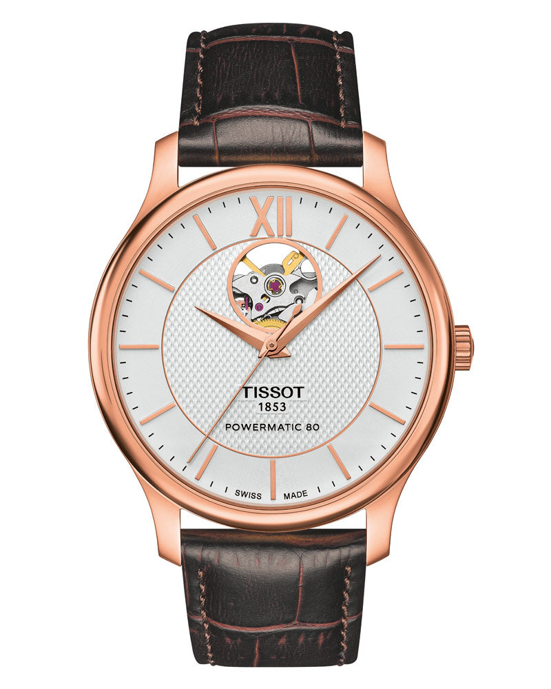Tissot Tradition Open Heart Powermatic T063.907.36.038.00