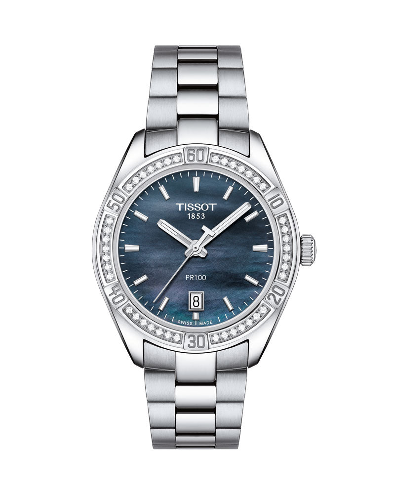 Tissot PR 100 Sport Chic Diamonds T101.910.61.121.00