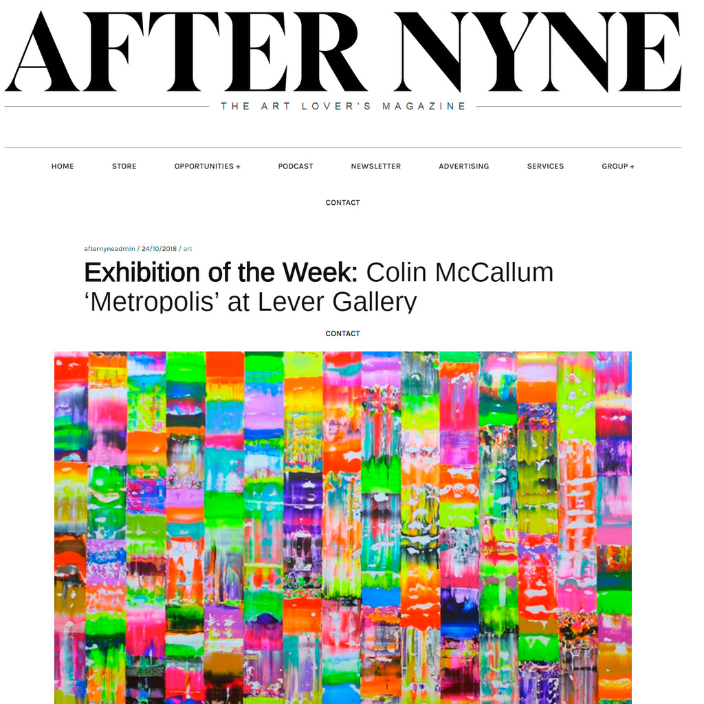 'Metropolis' exhibition is 'After Nyne' magazine exhibition of the week