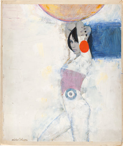 Michael Johnson, White Leotard with Red Spot, c. 1965