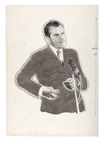Richard Nixon, portrait for NOVA Magazine