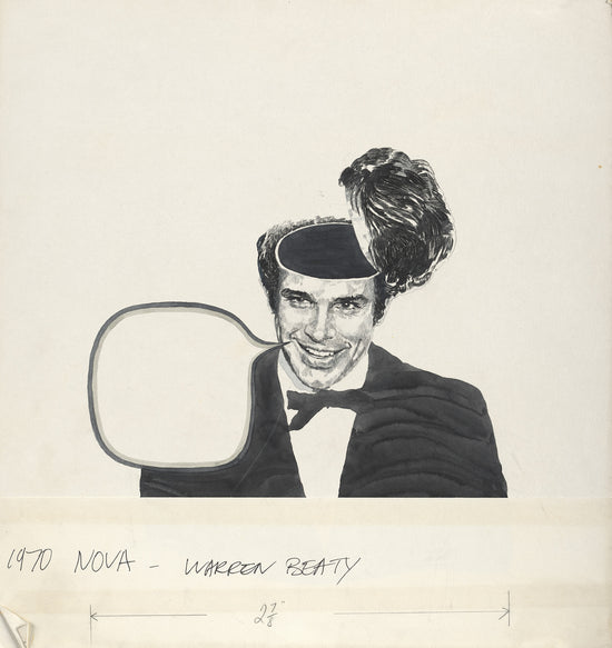 Warren Beatty, portrait for NOVA Magazine