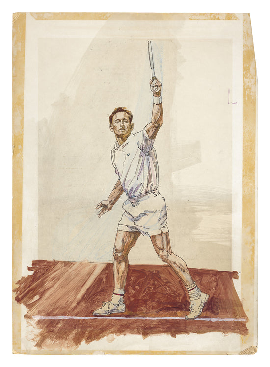 Rod Laver for Sunday Times, 1960s