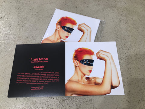Peter Ashworth : mavericks : a set of 6 Annie Lennox cards