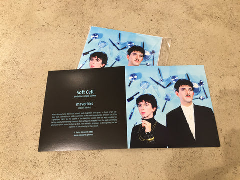 Peter Ashworth : mavericks : a set of 6 Soft Cell cards