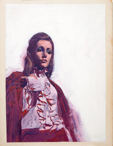 Woman with Frills