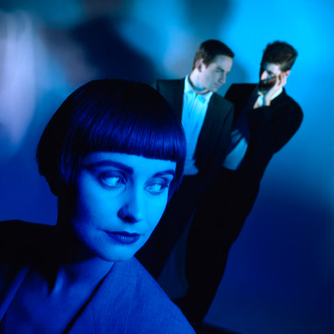 Swing Out Sister - whisper in blue - Magazine shoot