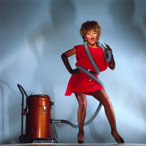 Tina Turner - singing in a vacuum - LP session
