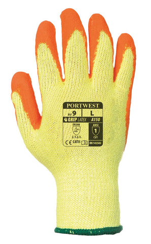 Fortis Grip Glove - Orange (Pk of 12)