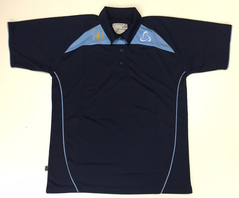 Worle School Unisex PE Polo Shirt