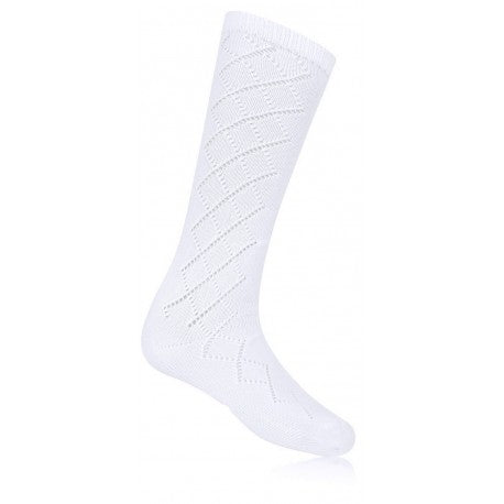 Girls Knee High Pelerine Socks
