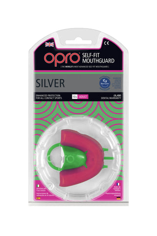 Opro Silver Self Fit Mouthguard