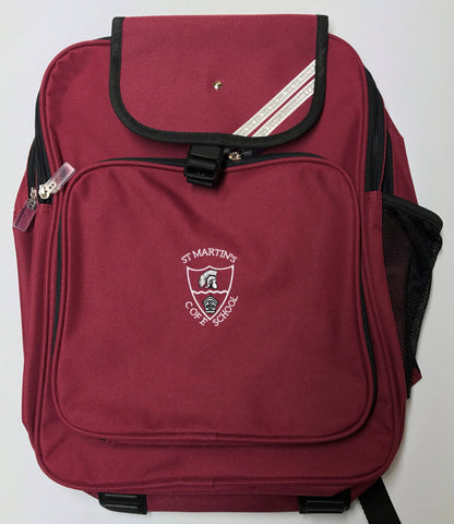 St Martins Key Stage 2 Back Pack