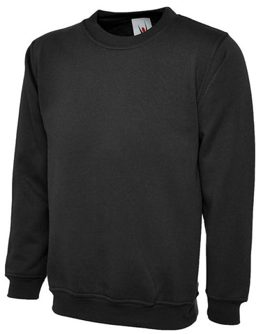 Uneek Premium Sweatshirt - Black