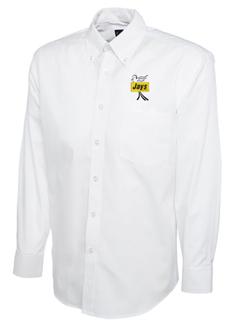 Jays Long Sleeved Oxford Shirt