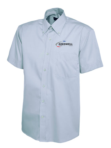 Keedwell Scotland Short Sleeved Oxford Shirt