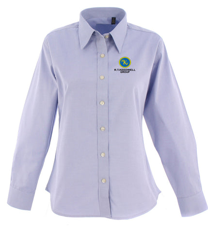 RTK Group Long Sleeved Oxford Blouse