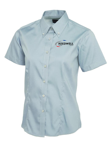 Keedwell Scotland Short Sleeved Oxford Blouse