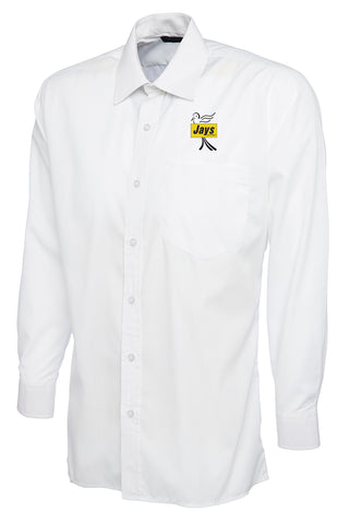 Jays Long Sleeved Poplin Shirt