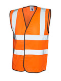 Keedwell Scotland Hi Viz Vest - Yellow/Orange