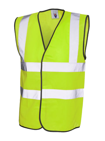 Hi Viz Safety Vest - Yellow/Orange