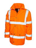 Jays Hi Viz Road Safety Anorak - Yellow/Orange