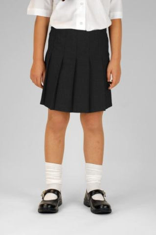 Trutex Girls Junior Pleat Skirt Black