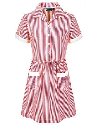 Ashbrooke House Red Stripe Summer Dress