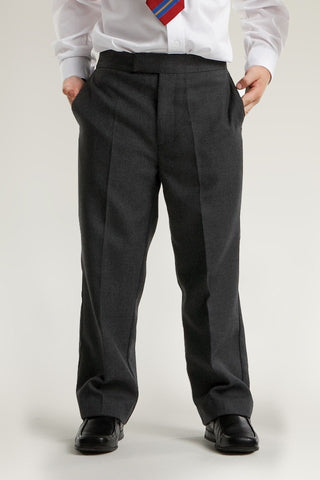 Trutex Junior Trousers Classic Fit Charcoal