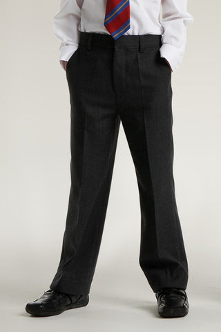 Trutex Junior Trousers Slim Fit Black
