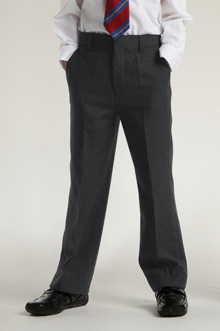 Trutex Junior Trousers Slim Fit Grey