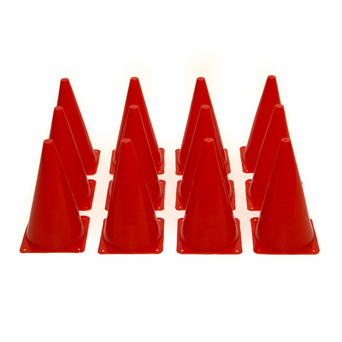 First-play 23cm Red Marker Cones