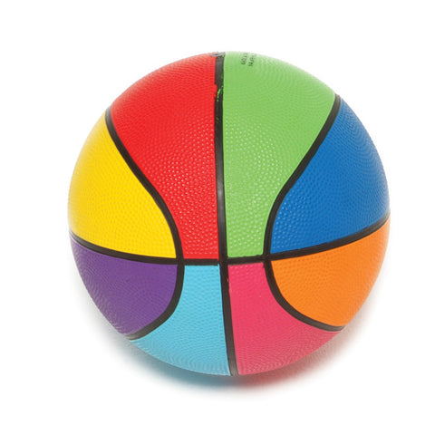 First-play Mini Rainbow Basketball